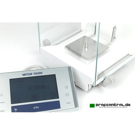 Mettler XS64 Excellence Analytical Balance Analyse Waage 61g 0.1mg 0.0001g FACT