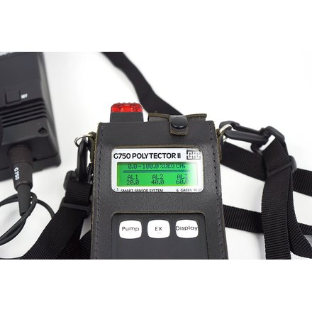 GFG G750 Polytector II Multi-Gas-Detector; max. 6 Gases; 3 Sensors installed