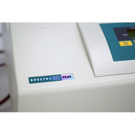 Molecular Devices SpectraMax Plus Microplate Reader S/N: 02864 SoftMax Pro 5