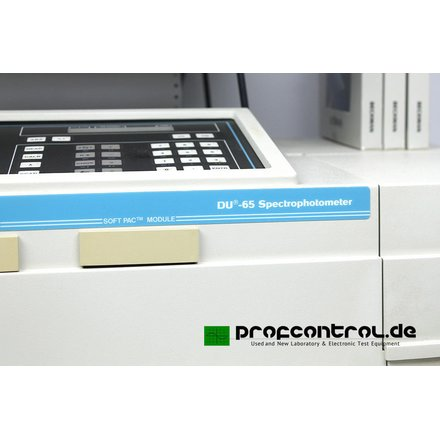 Beckman DU-65 UV/Vis Scanning Spectrophotometer 200-900nm Wavelength Scan