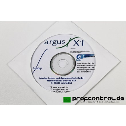 biostep argus X1 GEL Documentation System with Camera , Acessories and Software