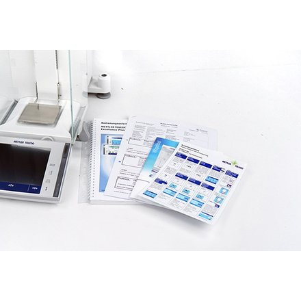 Mettler Toledo XP204 Excellence Plus Analytical Balance 220 g x 0.1 mg + Printer