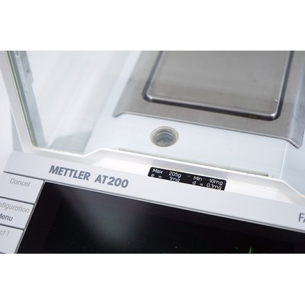 Mettler Toledo AT200 /M Analytical Balance 205g 0.1mg Pro FACT + RS-P42 Printer