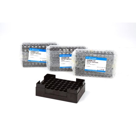 Agilent Vial Rack HPLC 1100 1200 5022-6502 Set of 2