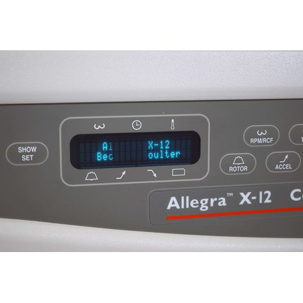 Beckman Coulter Allegra X-12 4x750ml Zentrifuge Centrifuge Constant Temperature
