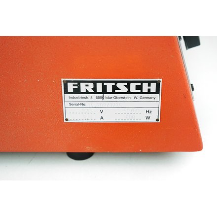 Fritsch Pulverisette 14 Rotor Speed Mill 12 Rib Rotor Sieve Rings Conversion Kit