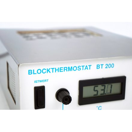 Kleinfeld Blockthermostat BT 200 2 x 8 x 15ml Falcon Ø 17mm Heating Block 199°C