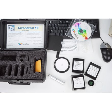 HunterLab ColorQuest XE CQXE Spectrophotometer 2013 S/N CQX3904 + Software