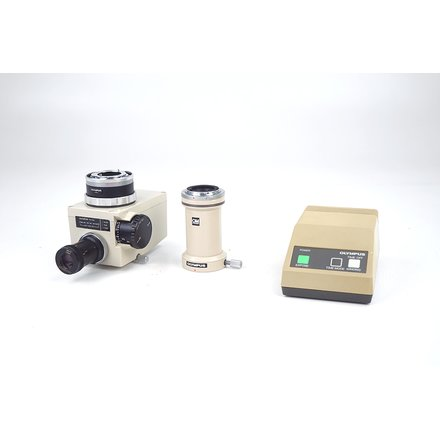 Olympus OM-Mount Photomicro Adapter L PM-10 AK Exposure Control PM-CBK-G
