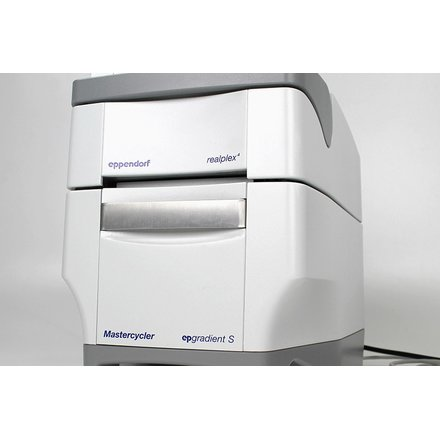 Eppendorf realplex 4 qPCR Real Time Cycler 96-Well 4 Color incl. Cal. / Software