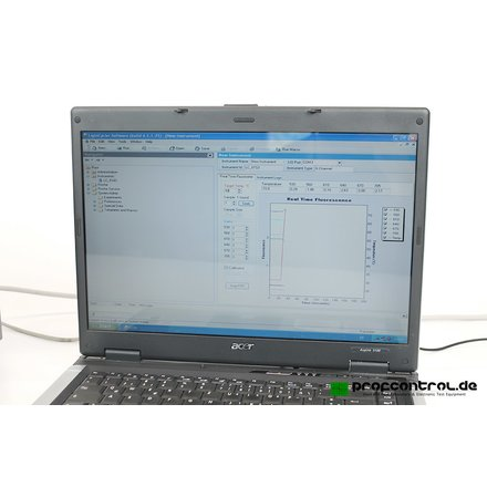 Roche LightCycler 2.0 6-Channel Real-Time PCR-System + Software 5.0 4.1 + Notebook