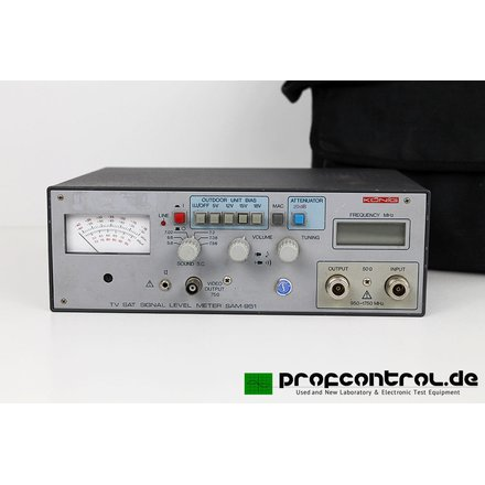 KÖNIG SAM-951 TV SAT LEVEL METER 950 - 1750 MHz 50 Ohms