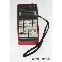 QUEST M-28 Noise Logging Dosimeter 30 - 146 dB A and C...