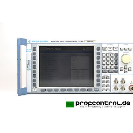 Rohde&Schwarz CMU200 Universal Communication Tester B11,21,52 K21,22,23,24,42,43