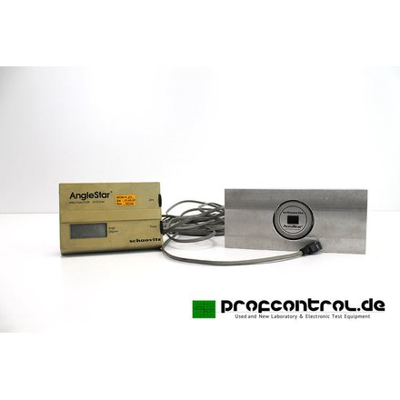 SCHAEVITZ AngleStar Protractor System Inclinometer + Display  +/-  70 Degrees