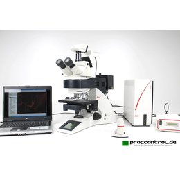 Leica DM6000 B Fluorescence POL ICT Motorized Microscope...