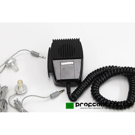 TEAC / Primo Dynamic Microphone Imedance 10 kOhms with 2 Earphones