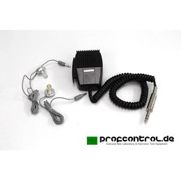 TEAC / Primo Dynamic Microphone Imedance 10 kOhms with 2...