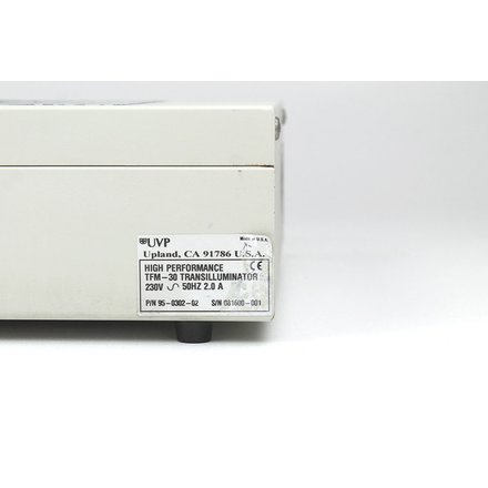 UVP TFM-30 High Performance Transilluminator 302nm 19x13 48cm x 33cm