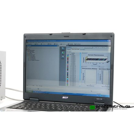 Roche LightCycler 1.3   6-Channel Real-Time PCR-System + Software 4.1 + Notebook