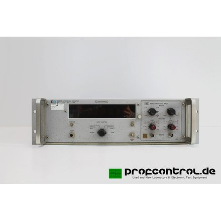 HP 5280A (HP5285A PLUG-IN )  Reversible Counter Dual Channel DC - 2 MHz