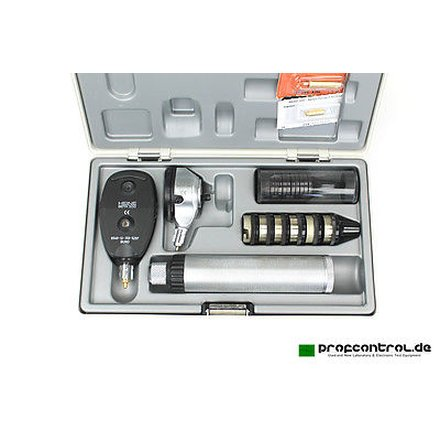 HEINE BETA 200 / BETA 100 Ophtalmoscope / Otoscope Set compl with Charger NT 200