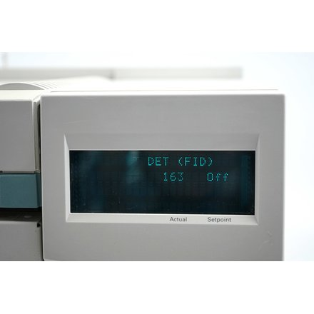 HP Agilent 6890 GC Gas Chromatograph FID SSL 7683 Injector ALS Split Splitless