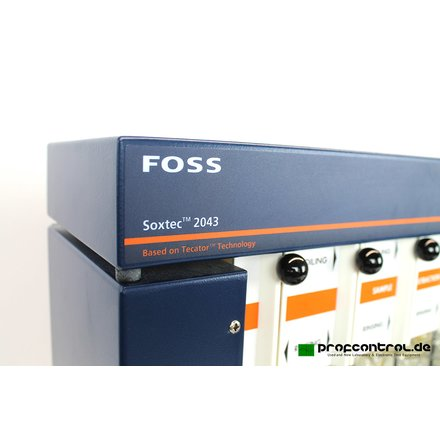 FOSS Soxtec 2043 2046 Extraction System Unit 0.1-100% fat - Complete! - Tested!