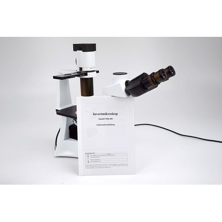 Hengtech NIB-100 Trinocular Inverted Phasecontrast Microscope